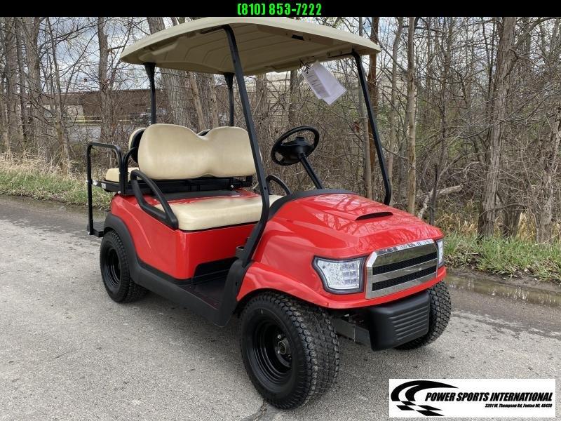 2014 Club Car Precedent 48V Electric Golf Cart FIRE ENGINE RED #9381