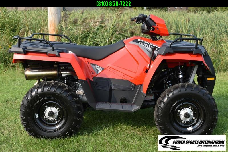 2019 POLARIS SPORTSMAN 450 H.O. 4X4 ATV #4038