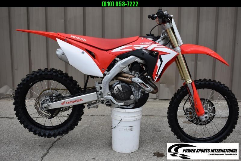 2019 HONDA CRF450R 4-Stroke MX Off Road Motorcycle #3351