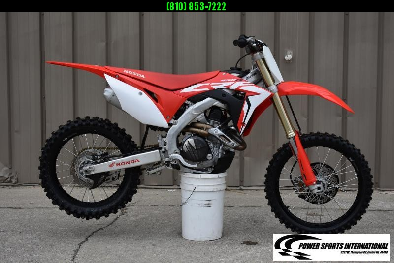 2019 HONDA CRF450R 4-Stroke MX Off Road Motorcycle #3351