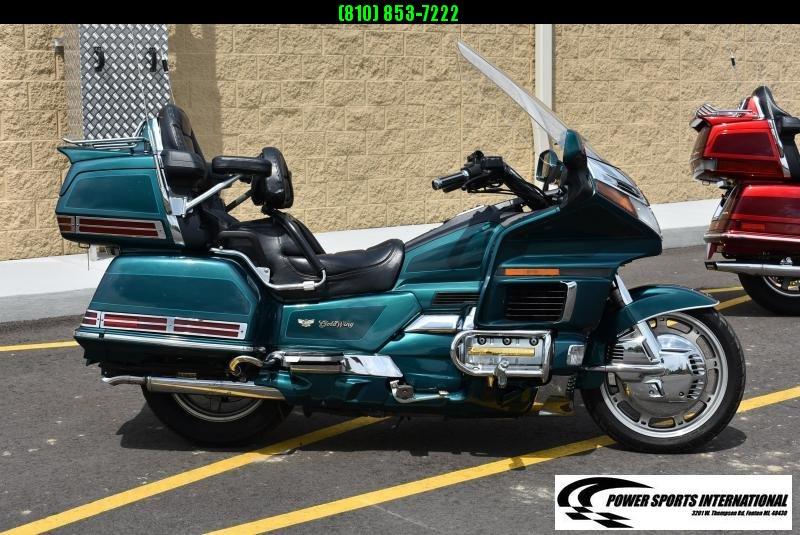1995 HONDA GL1500SE1L GOLDWING MOTORCYCLE ANNIVERSARY EDITION #3063