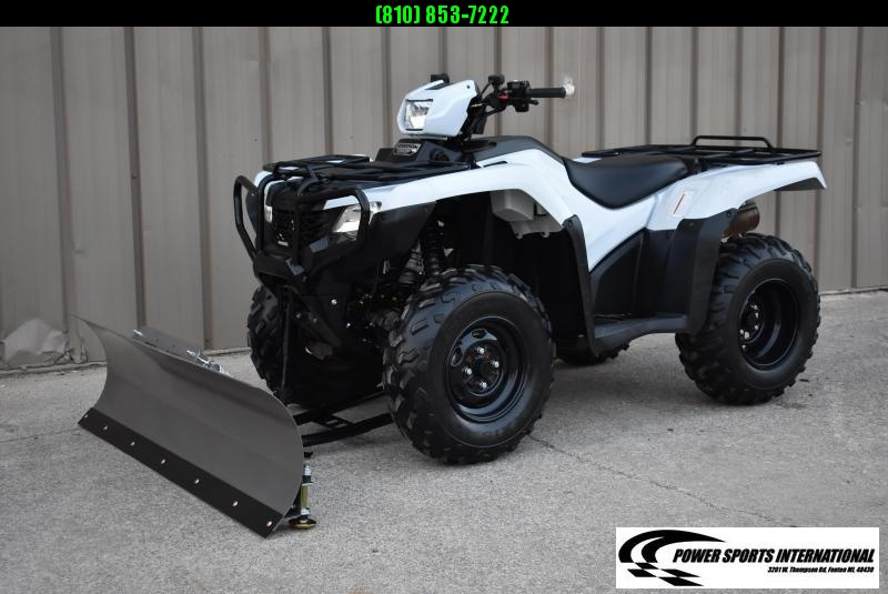 2017 HONDA TRX500FE2H FOURTRAX FOREMAN (ELECTRIC POWER STEERING) 4X4 ATV W/ SNOWPLOW #2265