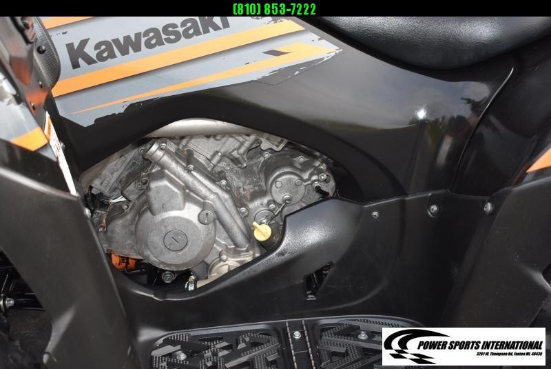 2018 KAWASAKI KVF750GJF BRUTEFORCE EPS (4X4I) Utility ATV w/ KFI SNOWPLOW PACKAGE #4065