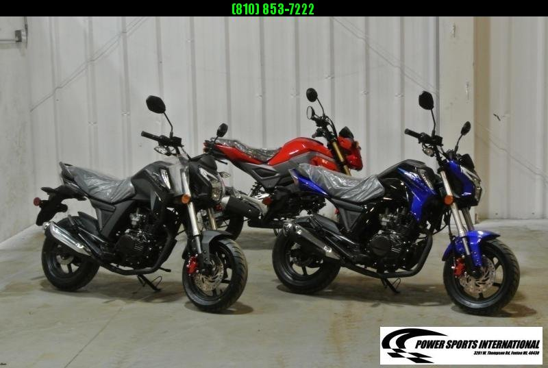 2021 LIFAN KP MINI 150 E-Start Motorcycle 60+mph GROM KILLER BLACK #0115