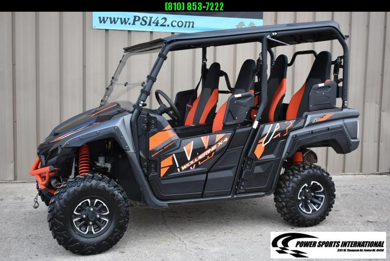 2018 YAMAHA WOLVERINE X4 SPECIAL EDITION EPS METALLIC ORANGE UTILITY UTV #0724