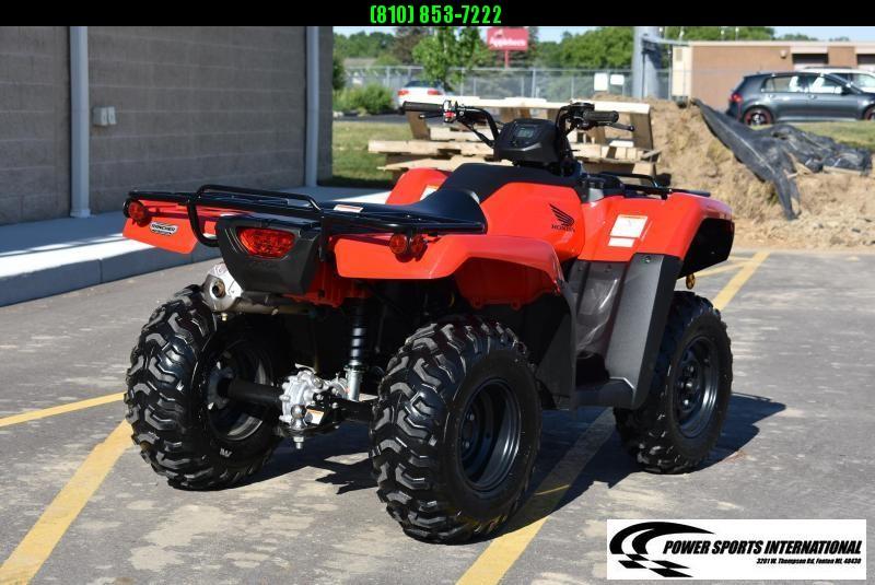 2019 HONDA TRX420FM1 FOURTRAX RANCHER (4X4) GLOSS RED HONDA ATV #1131