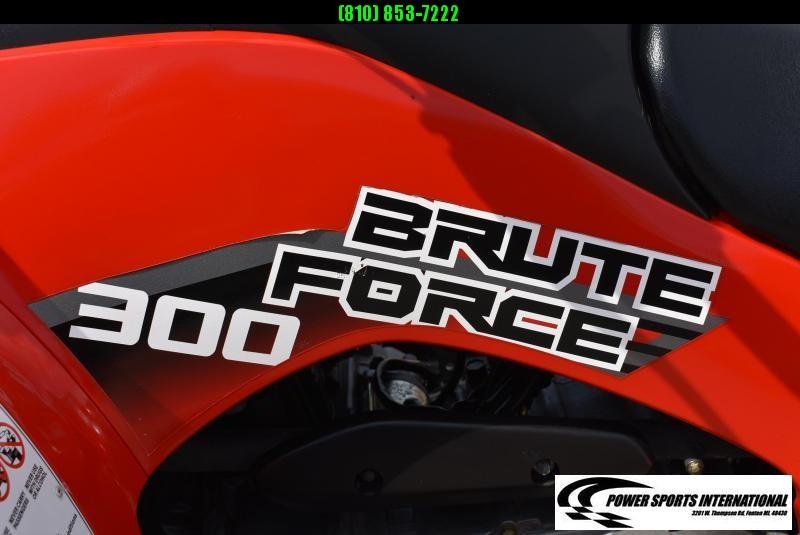 2020 KAWASAKI KVF300CLF BRUTEFORCE ATV E-Start & Reverse NICE! #0684