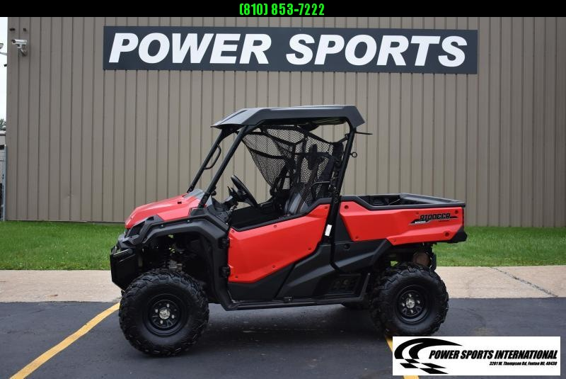 2018 Honda SXS1000M3P PIONEER EPS 3-Seater Sport Utility Side-by-Side w/ EXTRAS #2029