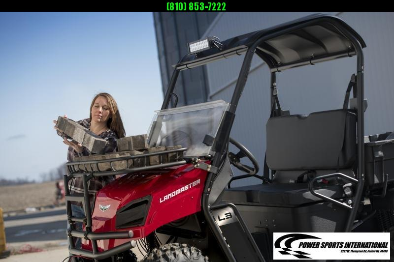 """2021 American Land Master L5 EPS 59"""" WIDE RED POLY BED Utility Side-by-Side (UTV) #0923"""