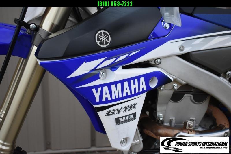 2017 YAMAHA YZ450F TEAM EDITION 4-Stroke MX Off Road Motorcycle #9739