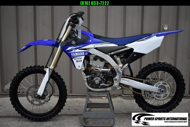 2017 YAMAHA YZ450F TEAM EDITION 4-Stroke MX Off Road Motorcycle #9739