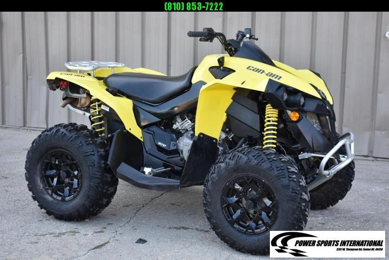 2020 Can-Am Renegade 570 Sunburst Yellow 4X4 Sport ATV Package #0125