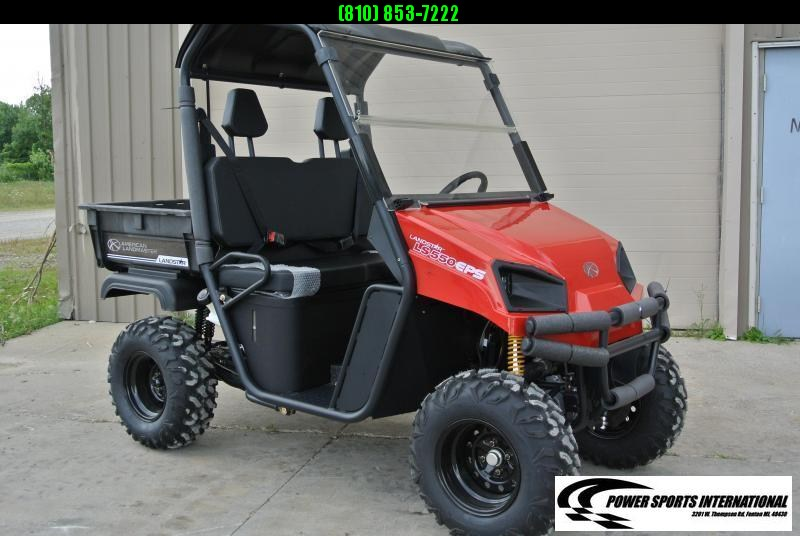 2020 American Land Master LS350 Red Utility Side-by-Side (UTV) #0256