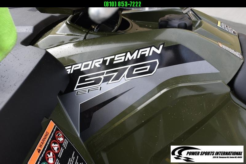 2018 POLARIS SPORTSMAN 570 EPS 4X4 HUNTER GREENATV #8808