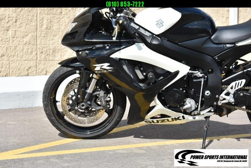 2006 SUZUKI GSX-R600K6 WHITE TEAM YAMAHAH SPORT BIKE ROCKET MOTORCYCLE #9566