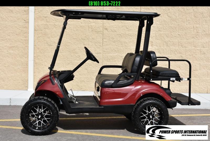 CUSTOM Yamaha Drive YDREX4 Electric 48V Golf Cart NICE!!! #0201