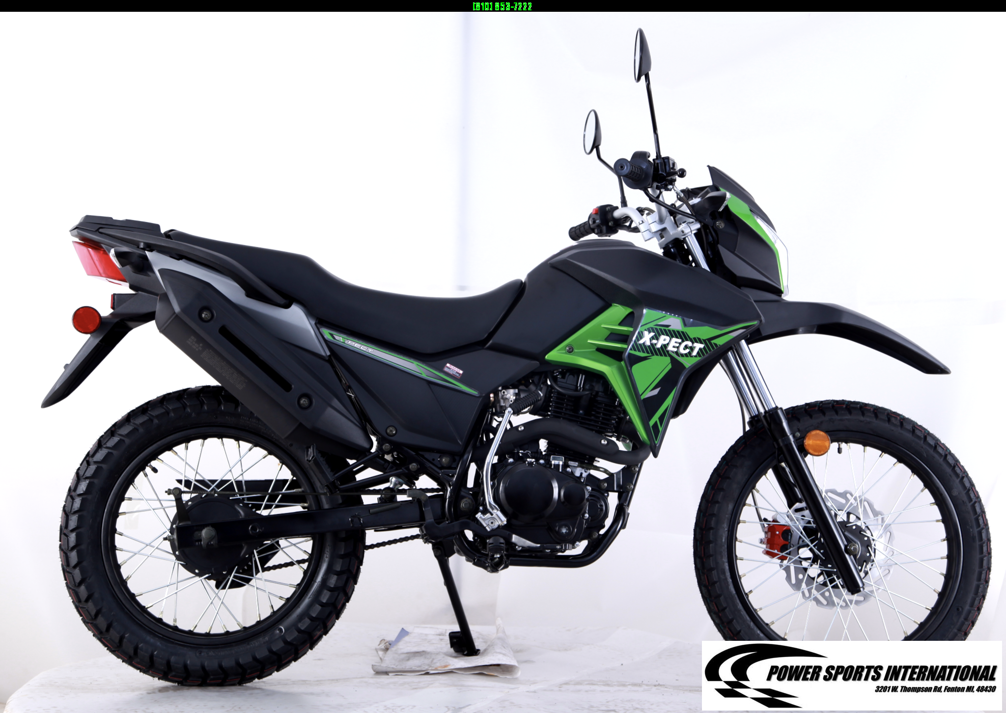 2020 X-PECT LIFAN 200CC DUAL SPORT DIRT BIKE MOTORCYCLE - LF200GY-4 - STREET LEGAL #0086