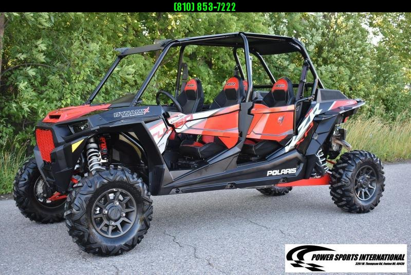 2018 POLARIS RZR XP 4 TURBO DYNAMIX EDITION (ELECTRIC POWER STEERING) SXS #0420