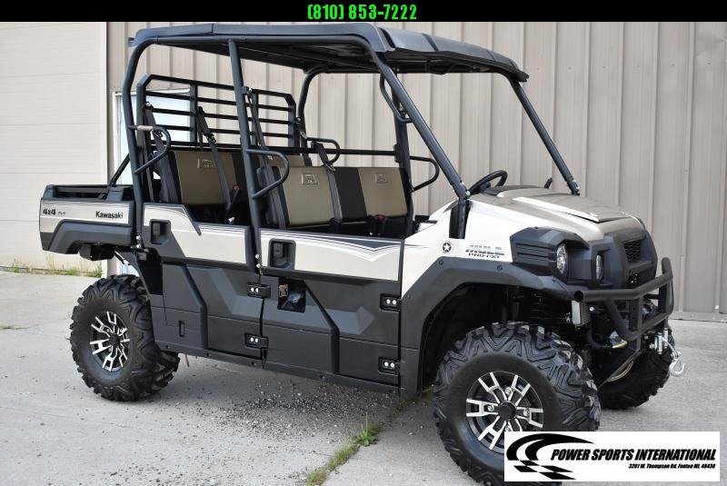 2018 KAWASAKI KAF820JJFL MULE PRO FXT RANCH EDITION 6-Seat Utility Side By Side. #7909