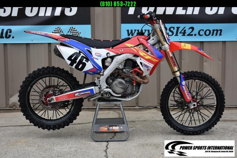 2015 Honda CRF450R Motorcycle MX Motocross Team Edition #1773