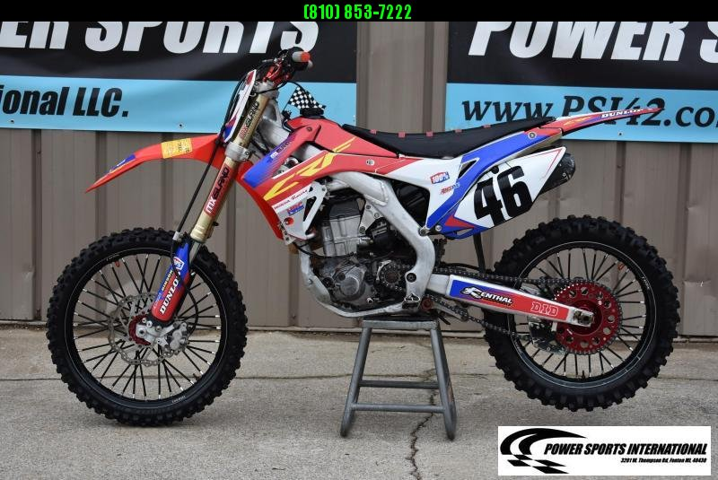 2015 Honda CRF450R Motorcycle MX Motocross Team Edition #1773