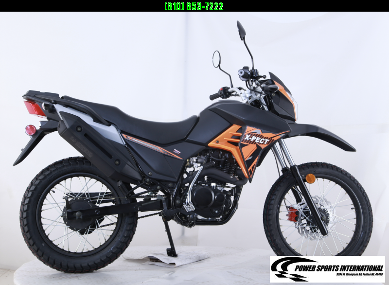 2020 X-PECT LIFAN 200CC DUAL SPORT DIRT BIKE - LF200GY-4 - STREET LEGAL Motorcycle #0053