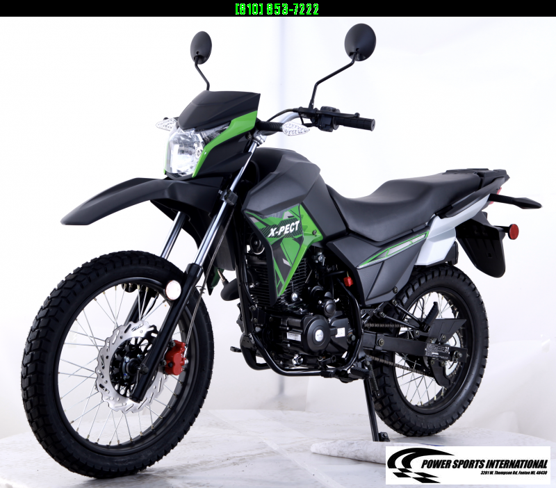 2020 X-PECT LIFAN 200CC DUAL SPORT DIRT BIKE - LF200GY-4 - STREET LEGAL Motorcycle