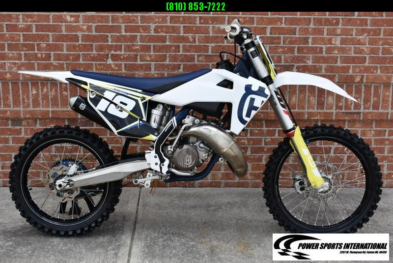 2020 HUSQVARNA TC 125 2-Stroke MX Off Road Motorcycle SCHOOL BOY EDITION