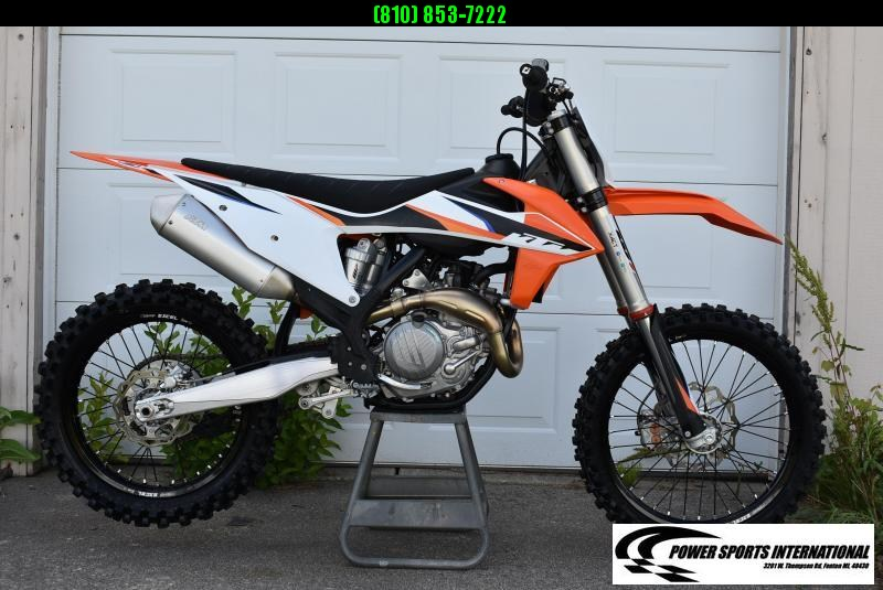 2021 KTM 450 SX-F Electric Start 4-Stroke MX Off Road Motorcycle Only 3hrs #5953