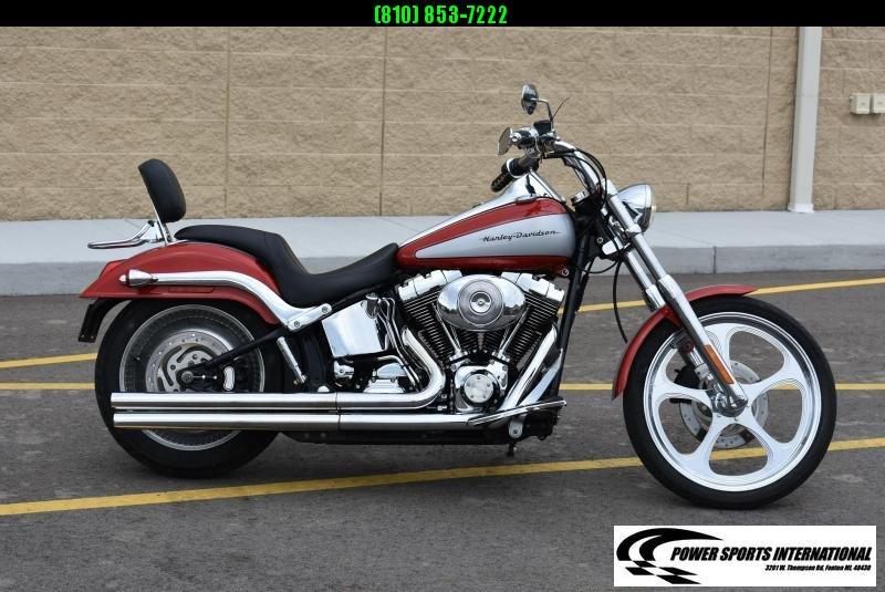 2002 HARLEY DAVIDSON FXSTDI SOFTAIL DEUCE DELUXE CRUISER TOURING MOTORCYCLE #9791
