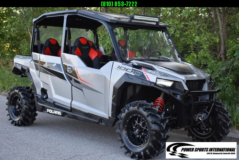 2017 POLARIS GENERAL 4 EPS 1000 4x4 SXS with EXTRAS #2908