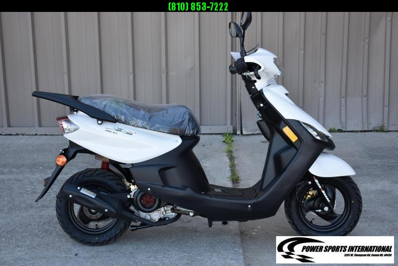2020 Aeolus Linhai 50V YAMAHA JOG Scooter White #0032