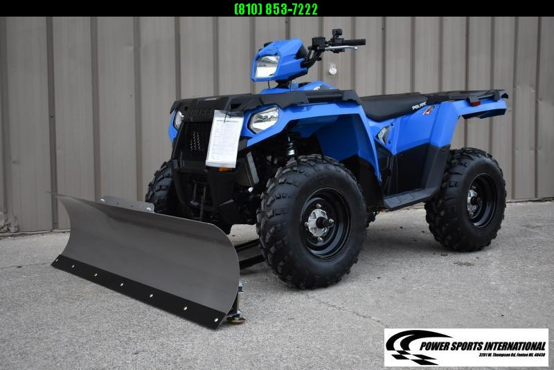 2019 POLARIS SPORTSMAN 570 (ELECTRIC POWER STEERING) UTILITY ATV w/ SNOWPLOW #6356