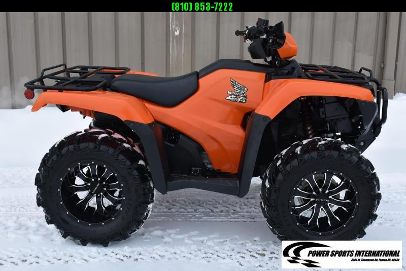 2019 HONDA TRX500FE2 FOURTRAX FOREMAN HUNTER ORANGE (ELECTRIC POWER STEERING) 4X4 ATV #1632