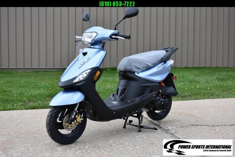 2018 Aeolus Linhai 50V YAMAHA JOG Scooter BLUE #0053