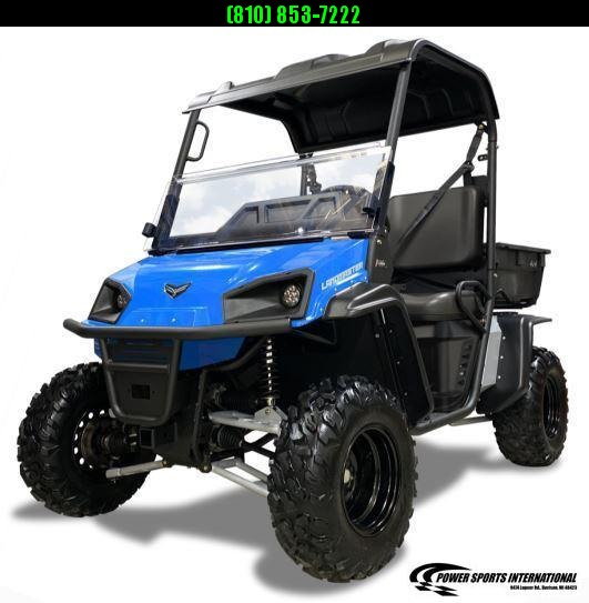 """2021 American Land Master L5 EPS 59"""" WIDE BLUE POLY BED Utility Side-by-Side (UTV) #0922"""