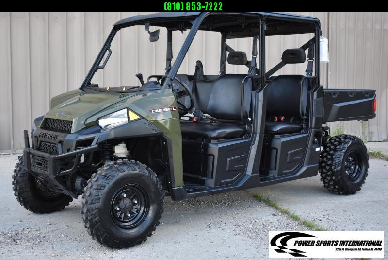 2017 POLARIS RANGER CREW DIESEL FULL-SIZE UTV SIDE BY SIDE #5960