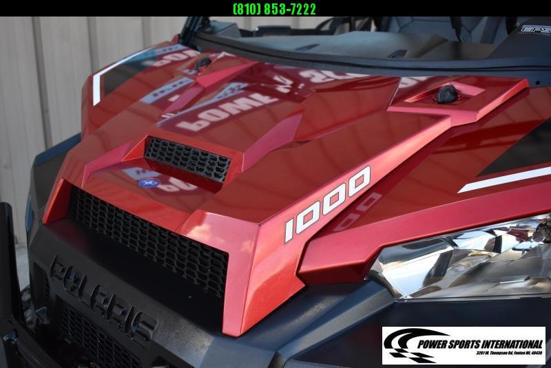 2017 POLARIS RANGER XP 1000 EPS METALLIC RED LIFTED ELECTRIC POWER STEERING UTILITY UTV #1117