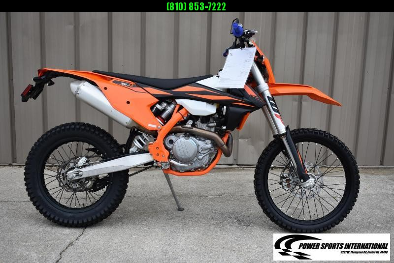 2019 KTM 500 EXC-F 4-Stroke Street Legal Enduro Motorcycle #1104
