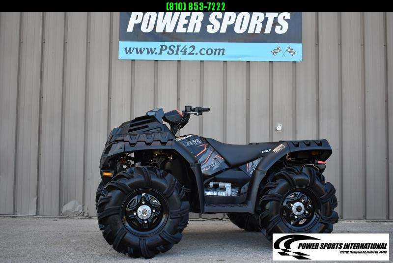 2019 POLARIS SPORTSMAN 850 HIGHLIFTER EDITION BLACK AND ORANGE #7398