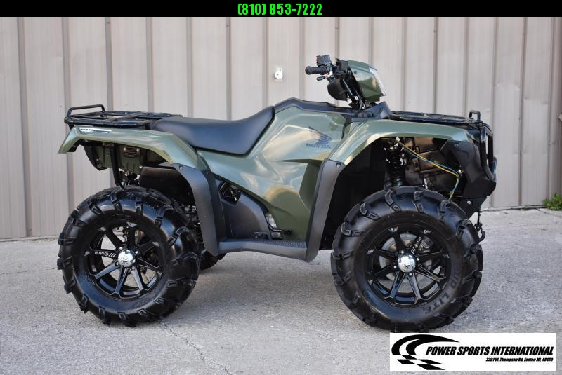 2017 HONDA TRX500FM6H FOURTRAX FOREMAN RUBICON GREEN 4X4 ATV 2765
