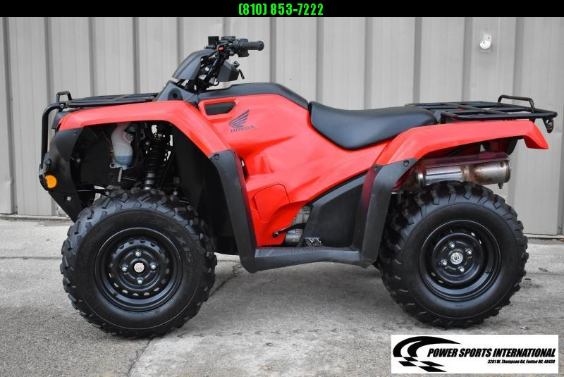 2019 HONDA TRX420TM1 RANCHER RED ATV #1137