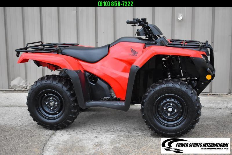 2019 HONDA TRX420TM1 RANCHER RED ATV #1137