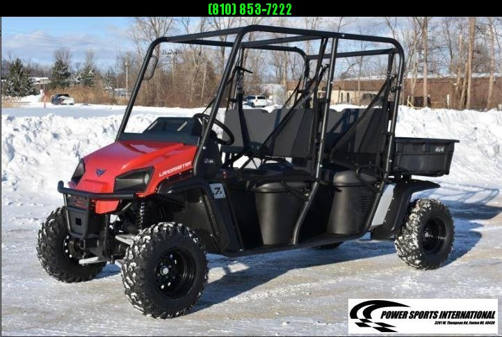 2021 American Land Master L7X 4-SEATER 4X4 Utility Side-by-Side (UTV) RED #0072