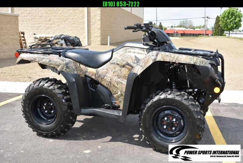 2020 HONDA TRX420FM1 FOURTRAX RANCHER (4X4) CAMO ATV #0287