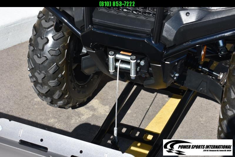 2020 HONDA TRX420FM1 FOURTRAX RANCHER (4X4) CAMO ATV w/ FULL SNOWPLOW PACKAGE #0287