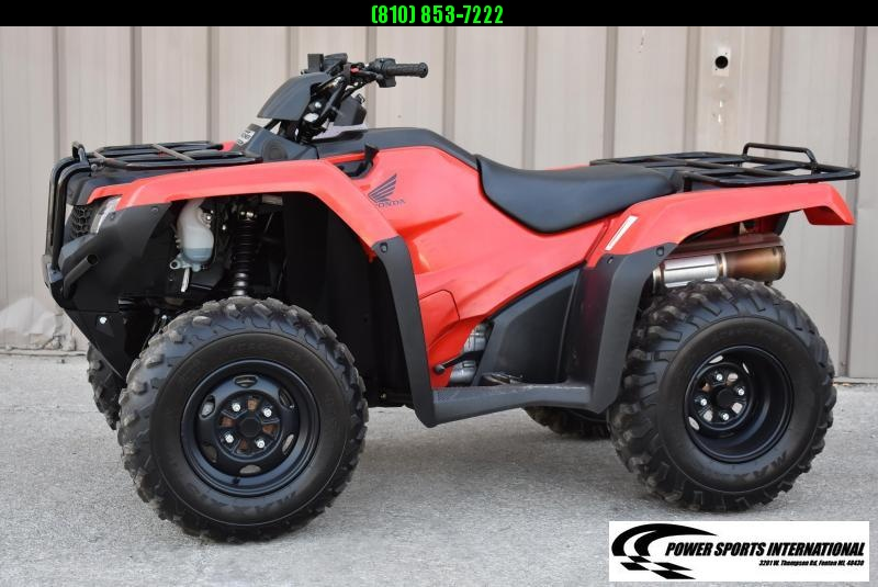 2018 HONDA TRX420FM1 FOURTRAX RANCHER (4X4) 4X4 ATV #0018