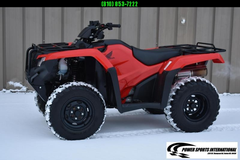 2018 HONDA TRX420FM1 FOURTRAX RANCHER (4X4) HUNTER GREEN 4X4 ATV #0018
