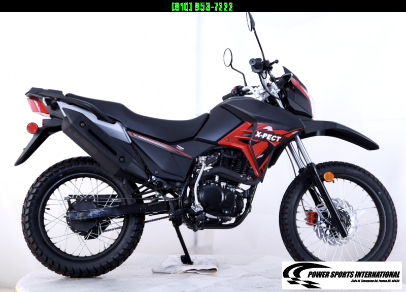 2020 X-PECT LIFAN 200CC DUAL SPORT DIRT BIKE MOTORCYCLE - LF200GY-4 - STREET LEGAL