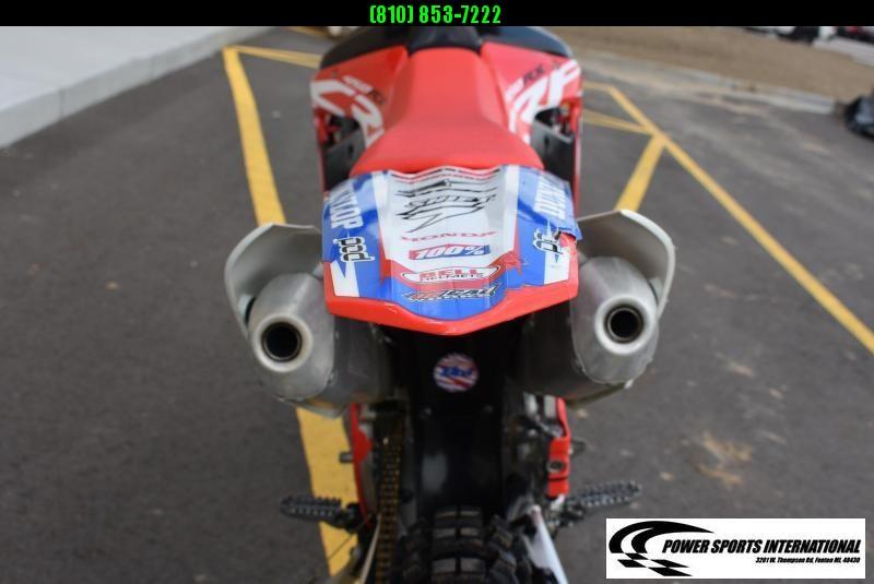 2017 HONDA CRF450 RXH Electric Start 4-Stroke MX Off Road Motorcycle WOODS #0800